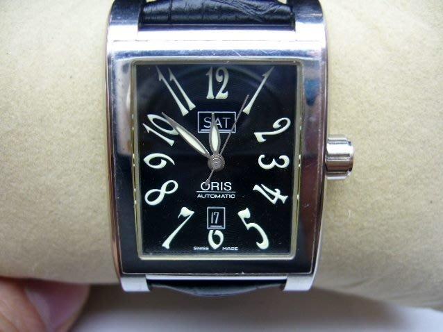 [吉宏精品交流中心]ORIS 豪利時 長方形 自動機械 皮帶 男錶