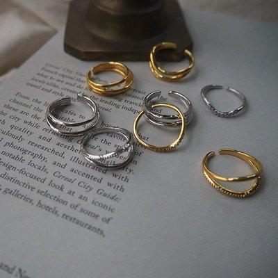 TYPE 簡單造型戒指 可當耳窩夾  Simple Modern [正韓] 韓國連線 【NN255】