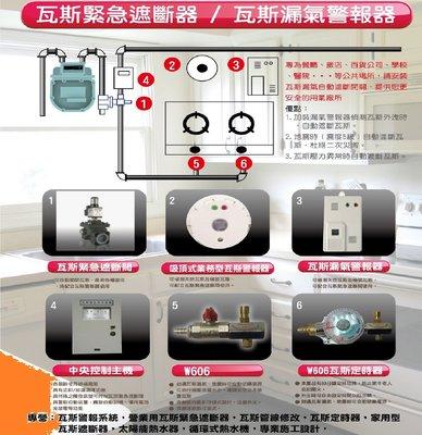 瓦斯遮斷器瓦斯緊急遮斷器瓦斯定時器地震感知機瓦斯配管
