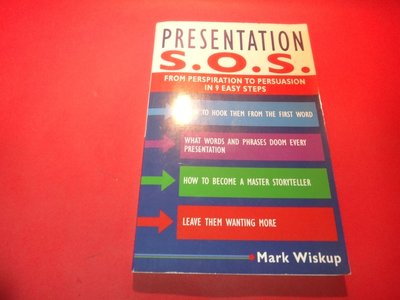 【愛悅二手書坊 32-17】Presentation S.O.S.: From Perspiration to -