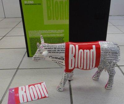BLOND art in the city design bernhard prinz 藝術品_牛  NO.84104