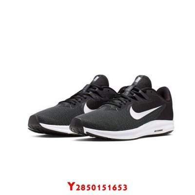 NIKE系列-DOWNSHIFTER 9 男款黑色運動鞋-NO.AQ7481002