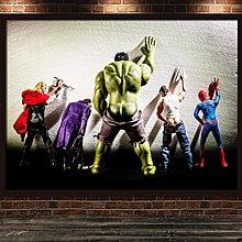 現代裝飾畫創意洗手間衛生間電影院WC掛畫搞笑動漫英雄可愛海報(不含框)