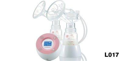 【晴晴百寶盒】貝喜力克Unimom LCD雙邊電動吸乳器 韓國母嬰兒用品 寶寶保母吸乳器 CP值高U366