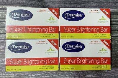 【原廠公司貨】Dermisa 美國超級淡斑皂 第二代 美國第三代 嫩白皂/升級版(消費高手推薦)(4塊為1組)