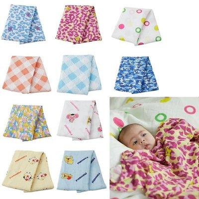 (現貨)Farandole 無棉絮極柔軟雙層竹纖維包巾 嬰兒包巾 豹紋包巾