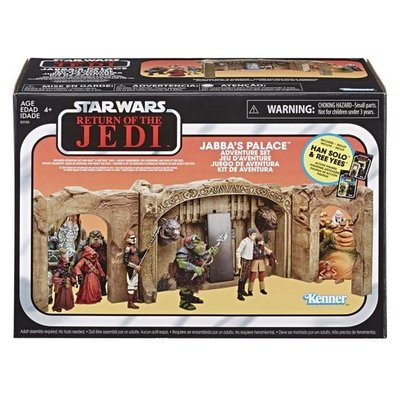 Kenner Star Wars Return of the Jedi Jabba's Palace Adventure Playset