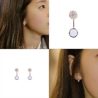【韓Lin連線代購】韓國 GET ME BLIN - 抗敏925銀針耳環 TINY OO