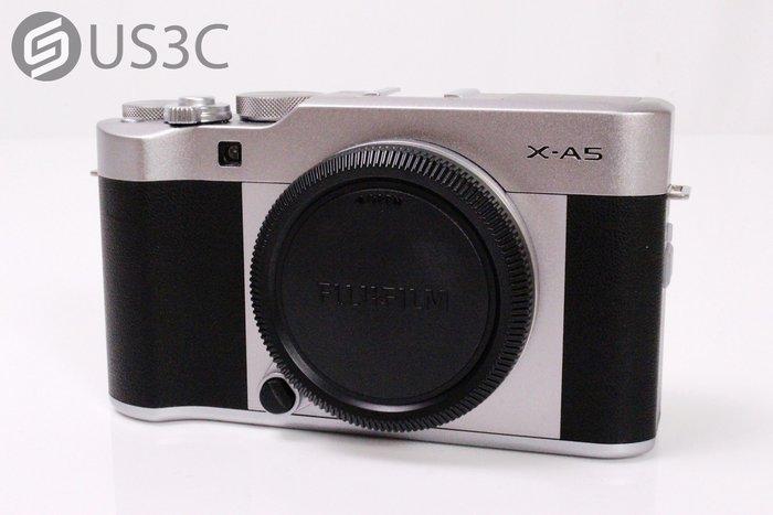 【US3C】富士 Fujifilm X-A5 Body 單機身 單眼相機 內建WiFi 2420萬像素 原廠保固內