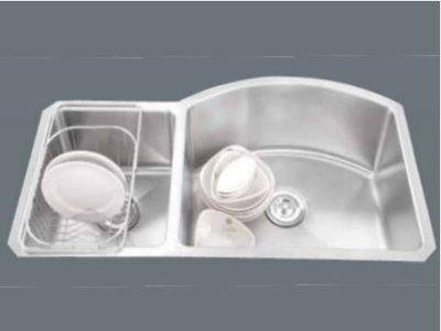 歐雅系統家具 / 系統家具 / 全室規劃『赫里翁-國產雙槽水槽-JT-938』