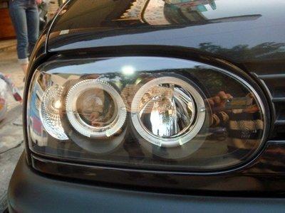 ☆小傑車燈家族☆全新外銷福斯GOLF-3代 GOLF-93-97仿GOLF 4光圈魚眼大燈組SONAR大廠製
