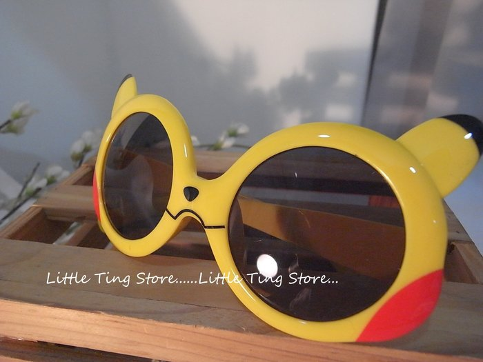MIT台灣製造 兒童太陽眼鏡 神奇寶貝 皮卡丘造型墨鏡太陽眼鏡 防曬眼鏡UV400