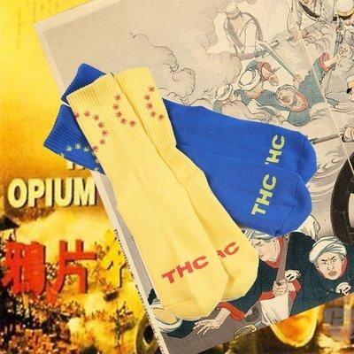 【希望商店】UGLY SYMPTOM WEED CIRCLE (THC) 麻葉 圈圈 長襪 襪子