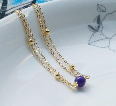 嗨,寶貝銀飾珠寶* 寶石飾品☆925純銀 南非國寶 純天然舒俱徠石寶石保A貨 雙排純銀手鍊