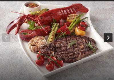 寒舍艾麗 La Farfalla 義式海鮮海陸饗宴雙人 餐 龍蝦牛排餐券