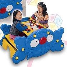 兒童傢俱FU-01【台灣CHING-CHING親親 桌椅系列-兩用桌椅(1Y)】書桌兼搖搖椅