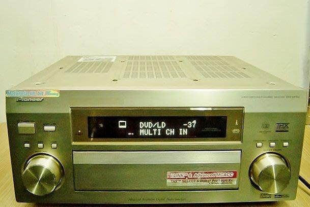 保固3個月【小劉2手家電】PIONEER 鋁髮絲紋面板7.1聲道擴大機,VSX-AX5AI型 , 壞機可修理/回收