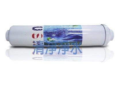 【清淨淨水店】FLUXTEK 小T33型顆粒活性炭濾心 台灣製45元/支