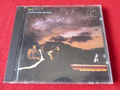 ⊙西洋原版⊙Genesis:and then there were three/西德銀圈無字版01/Target標首版