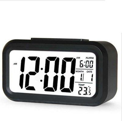 Digital Alarm LED Clock鬧鐘snooze Control Backlight Calendar鬧鐘時鐘
