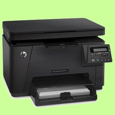 5Cgo【權宇】HP CLJ Pro MFP M176n 彩印影印掃描 行動網路多功能事務雷射印表機 黑16 彩4 含稅