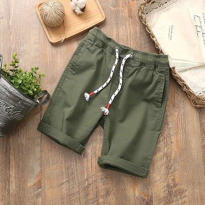 【Mr. Soar】 D143 夏季新款 歐美style童裝男童軍綠色短褲五分褲 中大童 現貨