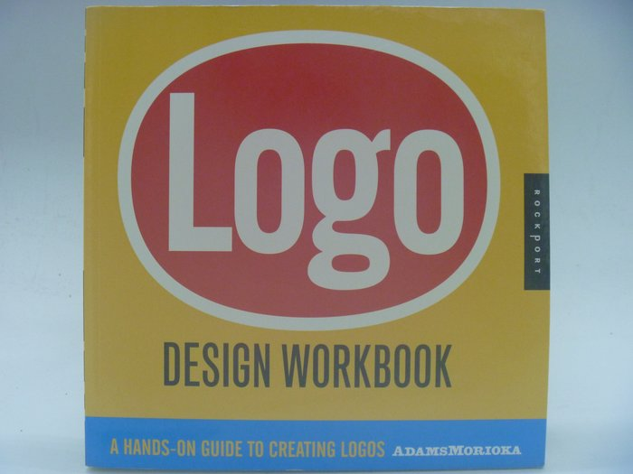【月界二手書店】Logo Design Workbook_Sean Adams_原價875 〖美工設計〗AJT
