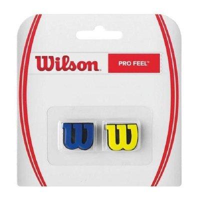 【曼森體育】全新 WILSON 網球拍 避震器 Wilson Profeel  藍/黃款 綠/橘款 2入
