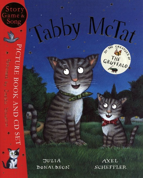*小貝比的家*TABBY MCTAT /平裝書+CD/3~6歲《主題: 幽默.自我認同》