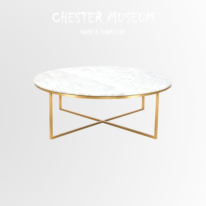 大理石客廳桌子 大理石金色咖啡桌 北歐風金色邊桌 北歐風 金色 邊桌 茶几 小圓桌 茶几 邊桌 賈斯特博物館