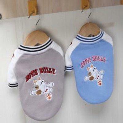 ☆yumico小舖☆寵物衣服 Bully棒球運動衫