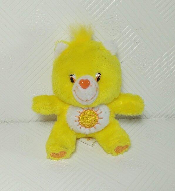 ☆奇奇娃娃屋(CB)☆Care bears 可愛的愛心小熊吊飾(絶版商品)~黃色太陽~150元
