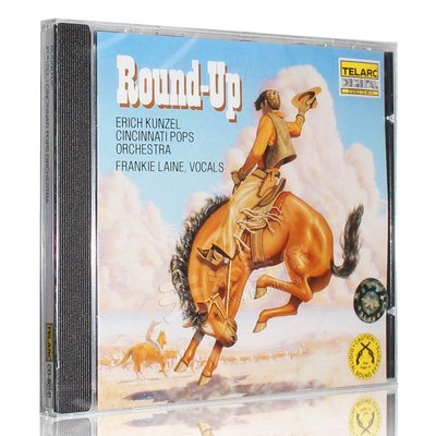 原裝正版 ROUND UP 西部大趕集/萬寶路 進口CD 動態試機碟CD80141