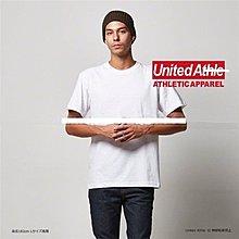 全新 日本購回 united athle 純白色素面短T 高磅數 好東西 現貨台北 全新買太多備品 亂賣