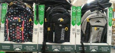 全新正品 ROOTS 多功能休閒後背包 筆電包 可放17吋筆電(三款花色)COSTCO好市多代購