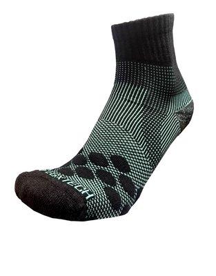 【EGXtech】P83 中統多功8字繃帶運動襪AIR 黑/ 淺綠 台北市