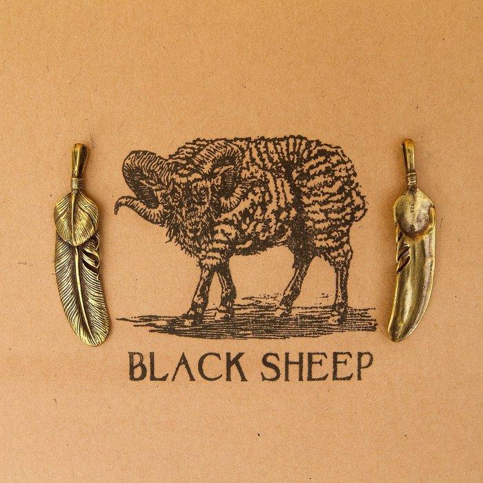 黑羊選物黃銅 鑰匙扣 羽毛 純黃銅製作 結實有手感 brass 隨身小物 鑰匙圈 配件 個性小物