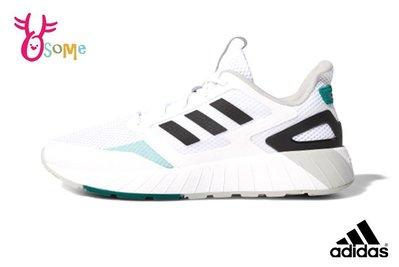 adidas neo QUESTARSTRIKE CLIMACOOL 成人男款 運動鞋 休閒鞋 R9303#白色 OSOME奧森鞋業