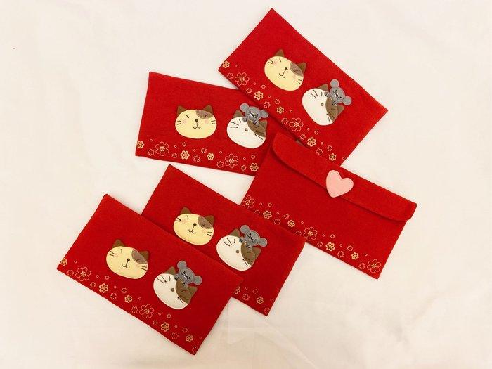 日本卡拉貓~GonPon醬迎鼠年紅包袋