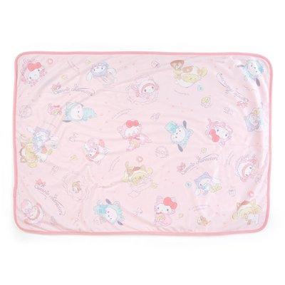 (現貨在台)日本正品Sanrio 三麗鷗 貓咪毛毯 保暖毯 冷氣毯 單人毯 薄毯 美樂蒂 Hello kitty 凱蒂貓