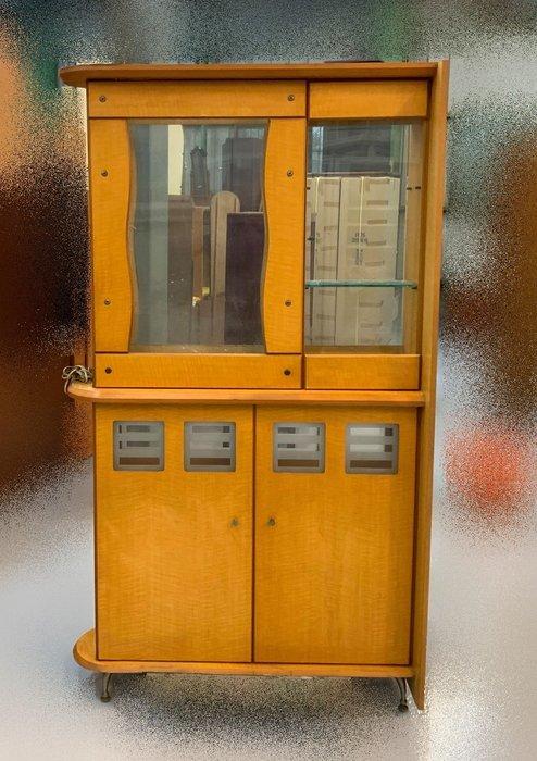 【宏品二手家具】 台中全新中古傢俱家電最便宜 A50605*木紋屏風櫃*衣櫃/高低櫃/置物櫃/電視櫃/矮櫃/平面櫃