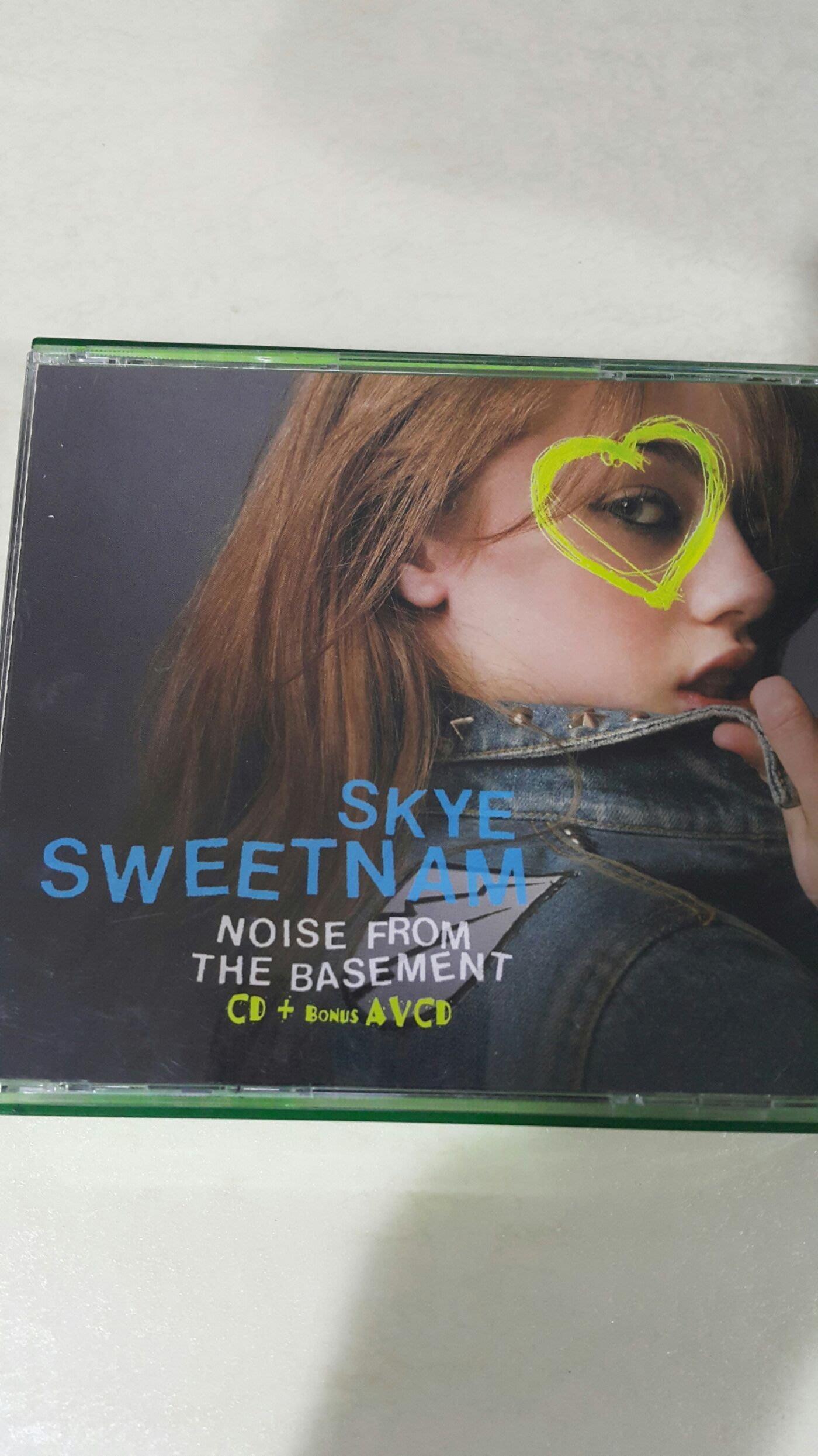SKYE SWEETNAM NOSIE FROM THE BASEMENT CD+ BOUNS AVCD