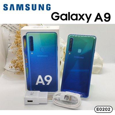 SAMSUNG A9 (2018) 藍色 128G 無傷福利品 三星 可二手貼換 歡迎詢問《承靜數位-富國》