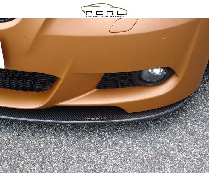 【樂駒】Perl Carbon Design BMW 3er E92 E93 M-Paket 碳纖維 前下擾流 前下巴