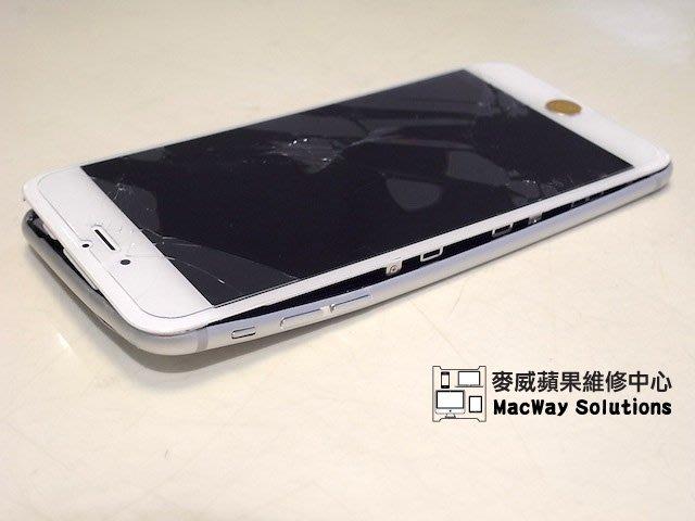 [台中 麥威蘋果] iPhone 6 4.7吋 iPhone 6 Plus 5.5吋 觸控板 螢幕玻璃更換 破裂變形