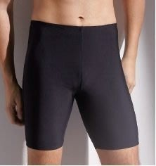 ~有氧小舖~素面黑色四角及膝七分四角泳褲 泳鏡泳帽泳裝特價 批發