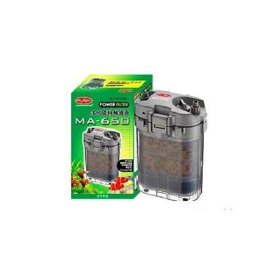 瓜瓜居寵-水族先生 MR.AQUA MA-650多功能圓桶過濾  內附濾材