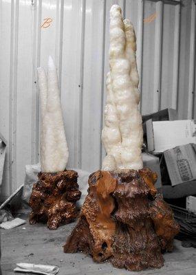 大型鐘乳石擺件
