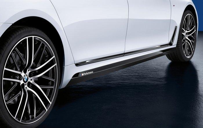 【樂駒】BMW G11 G12 7 Series M Performance 原廠 改裝 外觀 套件 側裙 貼紙