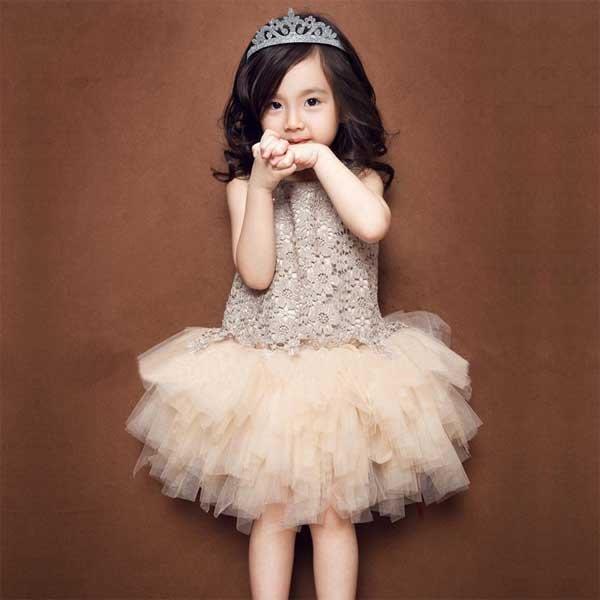 5Cgo【鴿樓】會員有優惠 45560783349 韓版 女童蕾絲連衣裙寶寶蓬蓬紗裙童裝公主裙夏 兒童镂空背心裙